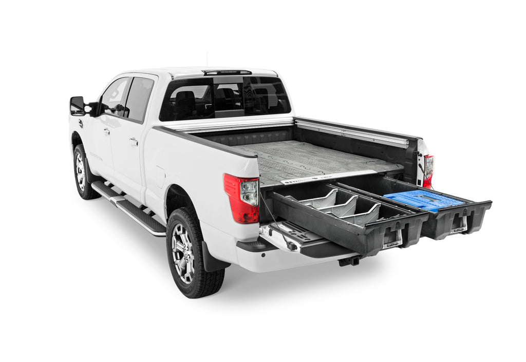 "Decked DN3 Fits 5' 7"" Nissan Titan (2016-current) Black in color"