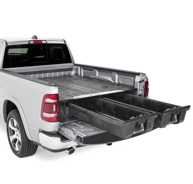"Decked DR3 Fits 5' 7"" RAM 1500 (2009-2018) & RAM 1500 Classic (2019) Black in color"