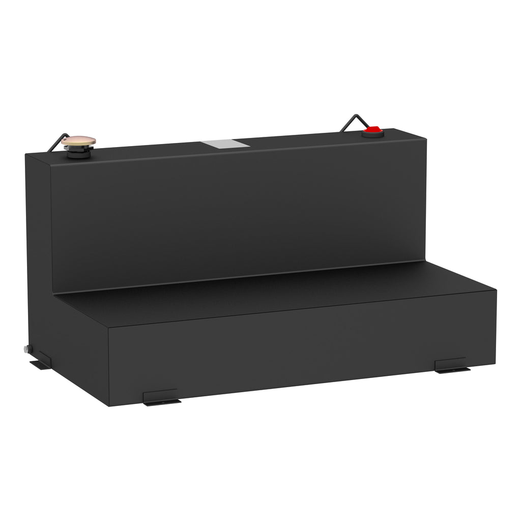 Matte Black 75-Gallon L-Shape Steel Transfer Tank