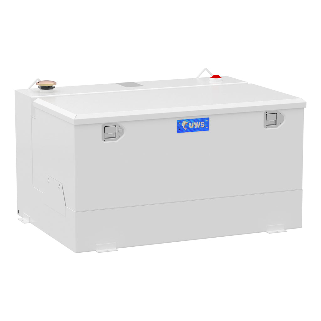 White 85-Gallon Steel-Aluminum Combo Transfer Tank