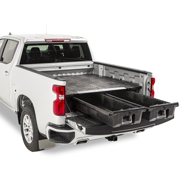 "Decked DG7 Fits 6' 6"" GM Sierra or Silverado 1500 (2019-current) - New ""wide"" bed width Black in color"