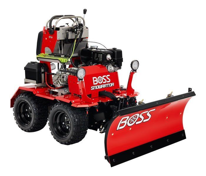 BOSS Snowrator 389cc Unit with 20 gallon brine tank