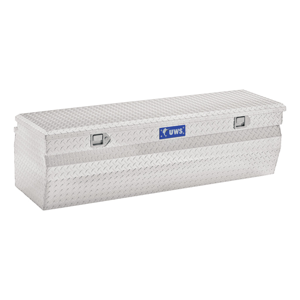 "Bright Aluminum 42"" Wedge Utility Chest Box (LTL Shipping Only)"