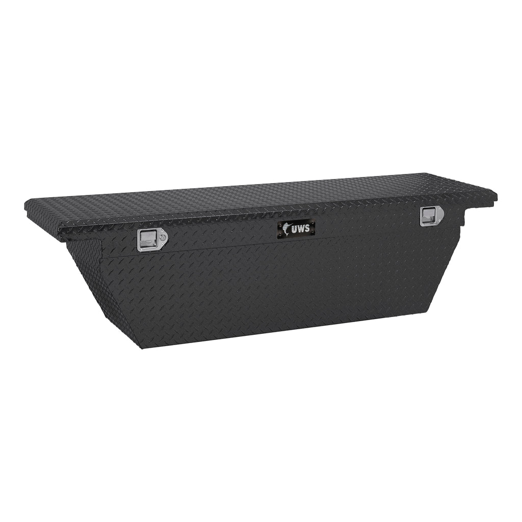 "69"" Deep Angled Crossover Truck Tool Box with Low Profile"