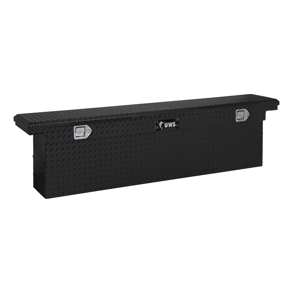 "Gloss Black 72"" Deep Slim Truck Tool Box, Low Profile (LTL Shipping Only)"