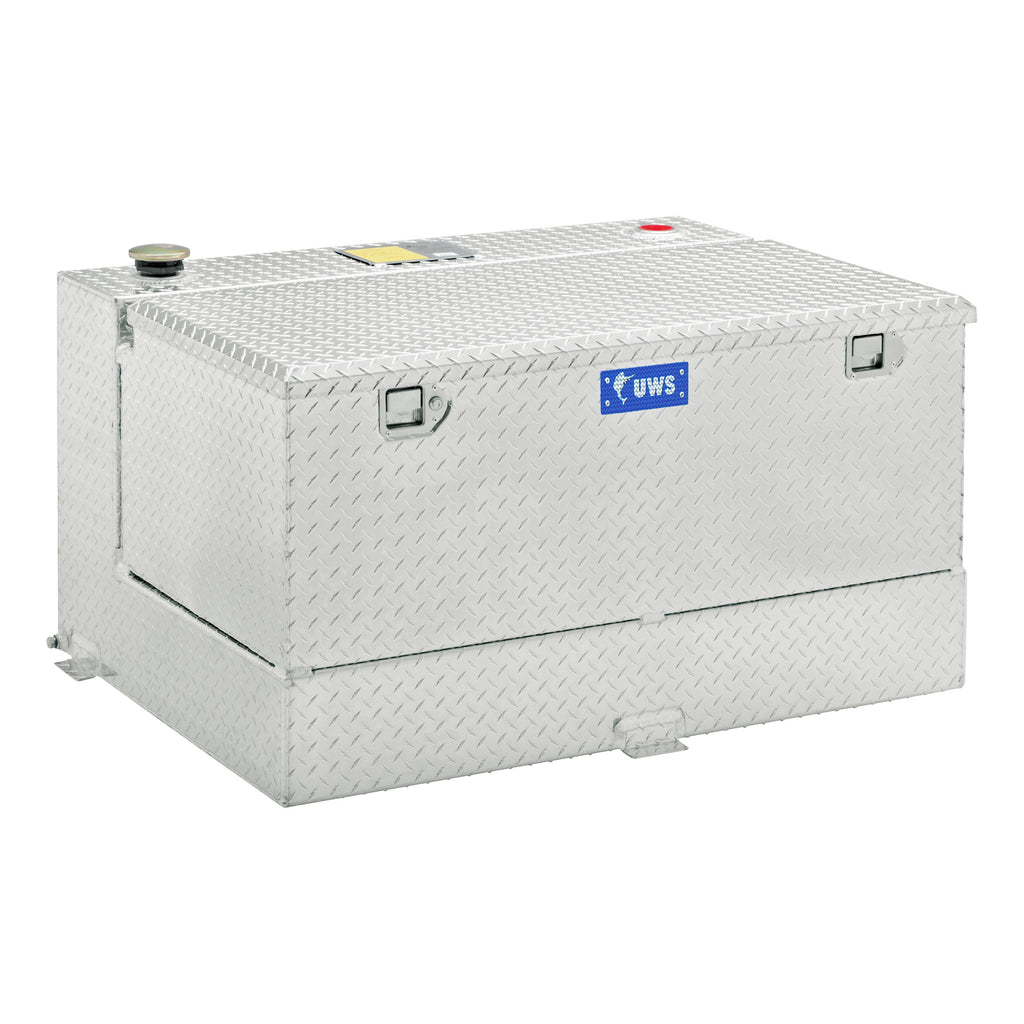 100-Gallon Combo Bright Aluminum Transfer Tank
