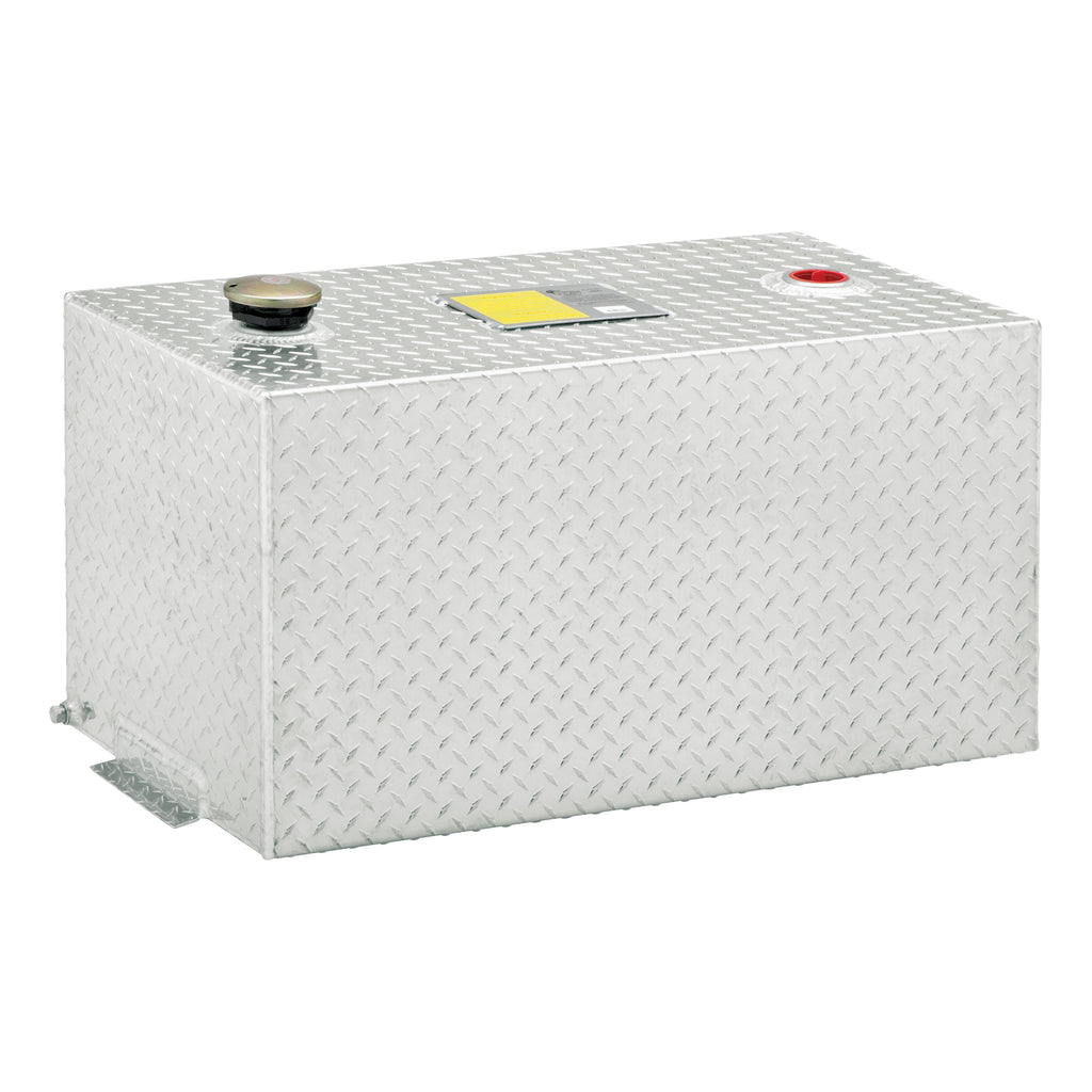 50-Gallon Rectangle Aluminum Transfer Tank