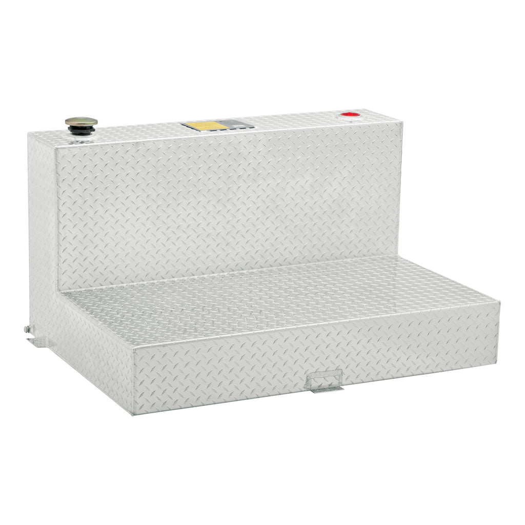 85-Gallon L-Shape Bright Aluminum Transfer Tank