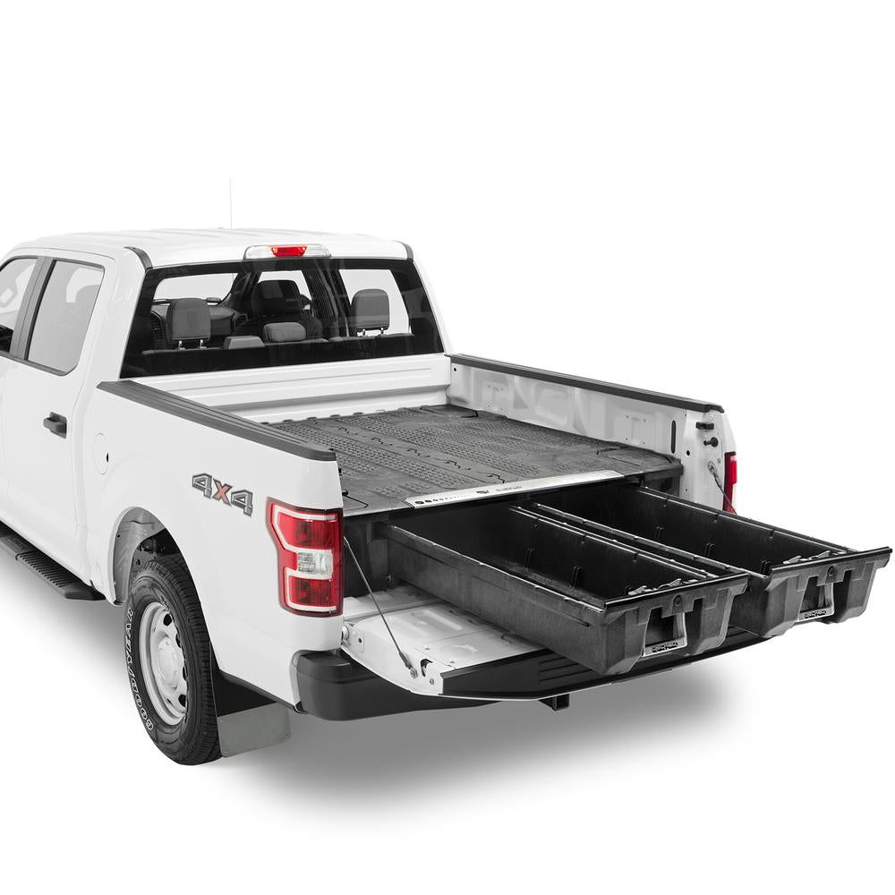 "Decked DF4 Fits 5' 6"" Ford F150 Aluminum (2015-current) Black in color"