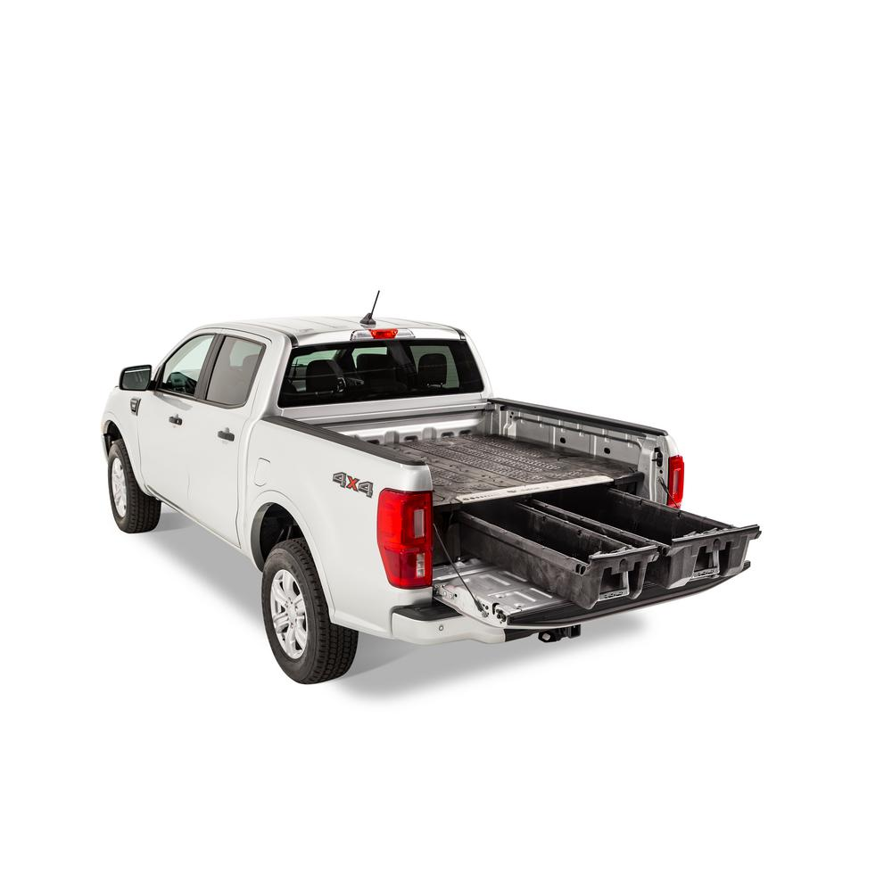 "Decked MF4 Fits 6' 0"" Ford Ranger (2019-current) Black in color"