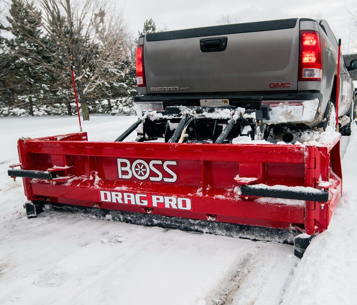 DRAG PRO 8' Fixed back blade pull plow