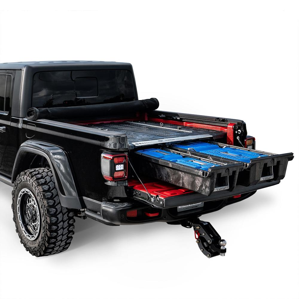 "Decked MJ1 Fits 5' 0"" Jeep Gladiator (2020-current) Black in color"