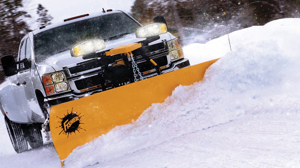 HD2 Fisher 8.6 Snow Plow