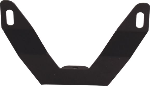Snow Plow Bull Bar License Plate Relocation Bracket for Bull bar