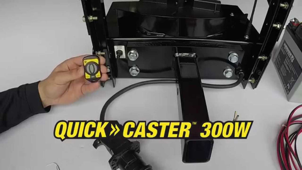 Fisher Quick-Caster 300W