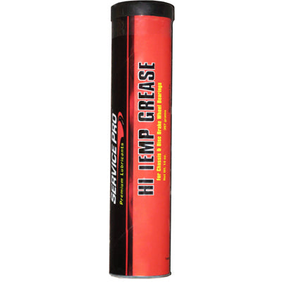 Hi-Temp Red Lithium Trailer Bearing Grease Service Pro 14 oz Tube