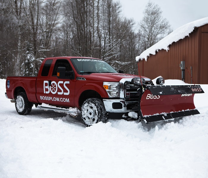 BOSS Snow Plow 9' STAINLESS