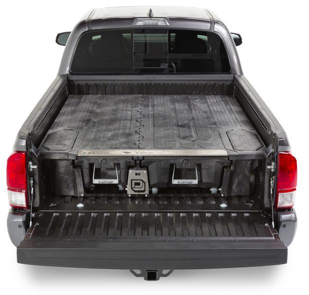 "Decked MT8 Fits 6' 2"" Toyota Tacoma (2019-current) Black in color"