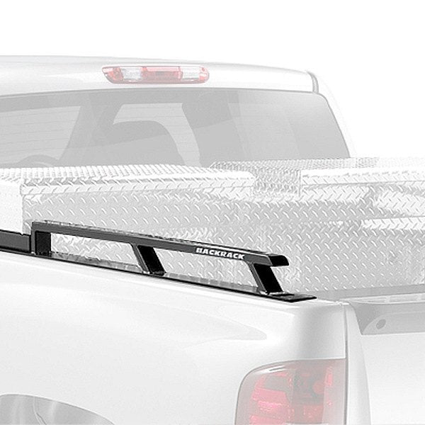 "Back Rack 65512TBSiderails - Toolbox 21""Side Rails, 6.5ft Bed, 2004-2014 F-150, 21"" Toolbox"