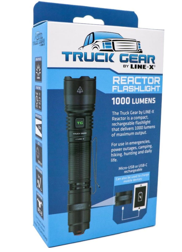 Truck Gear by LINE-X Flashlight