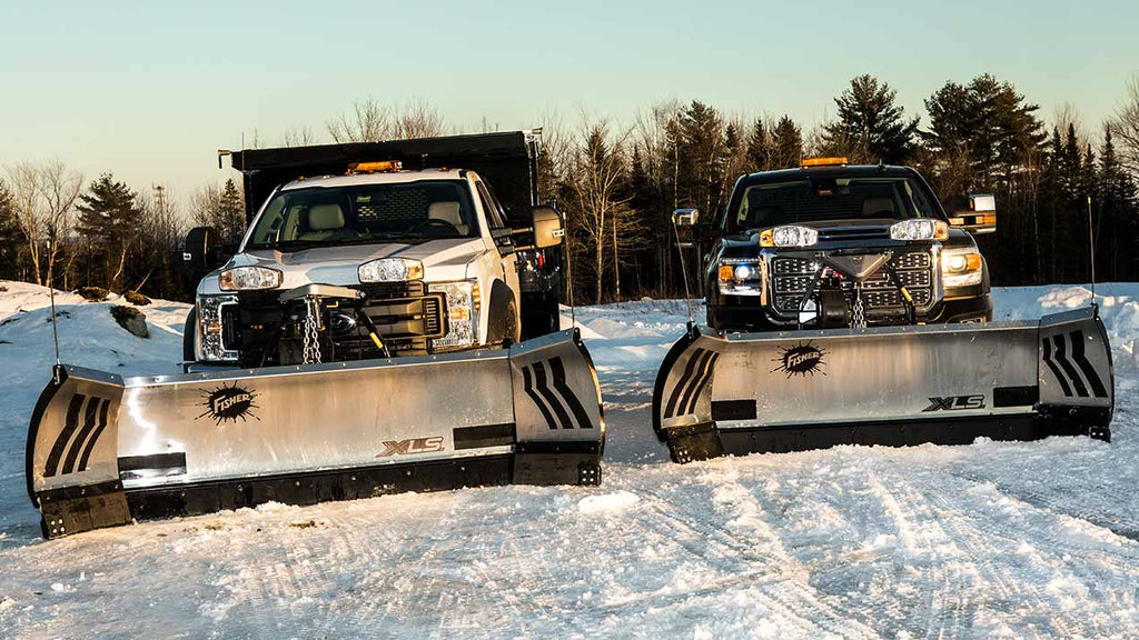 XLS Fisher Winged snow plow