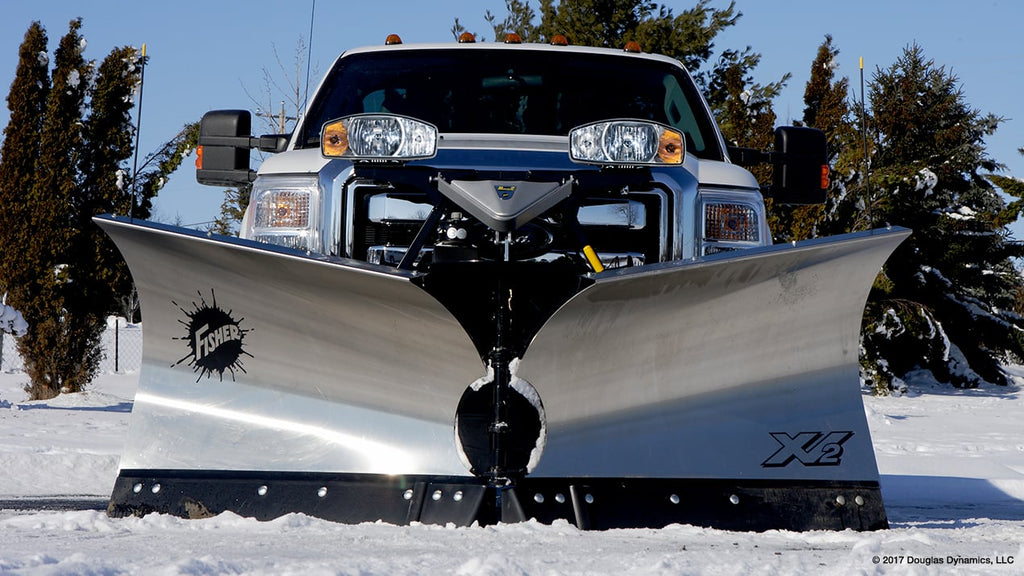 XV2 Stainless 9.2 Fisher Snow Plow