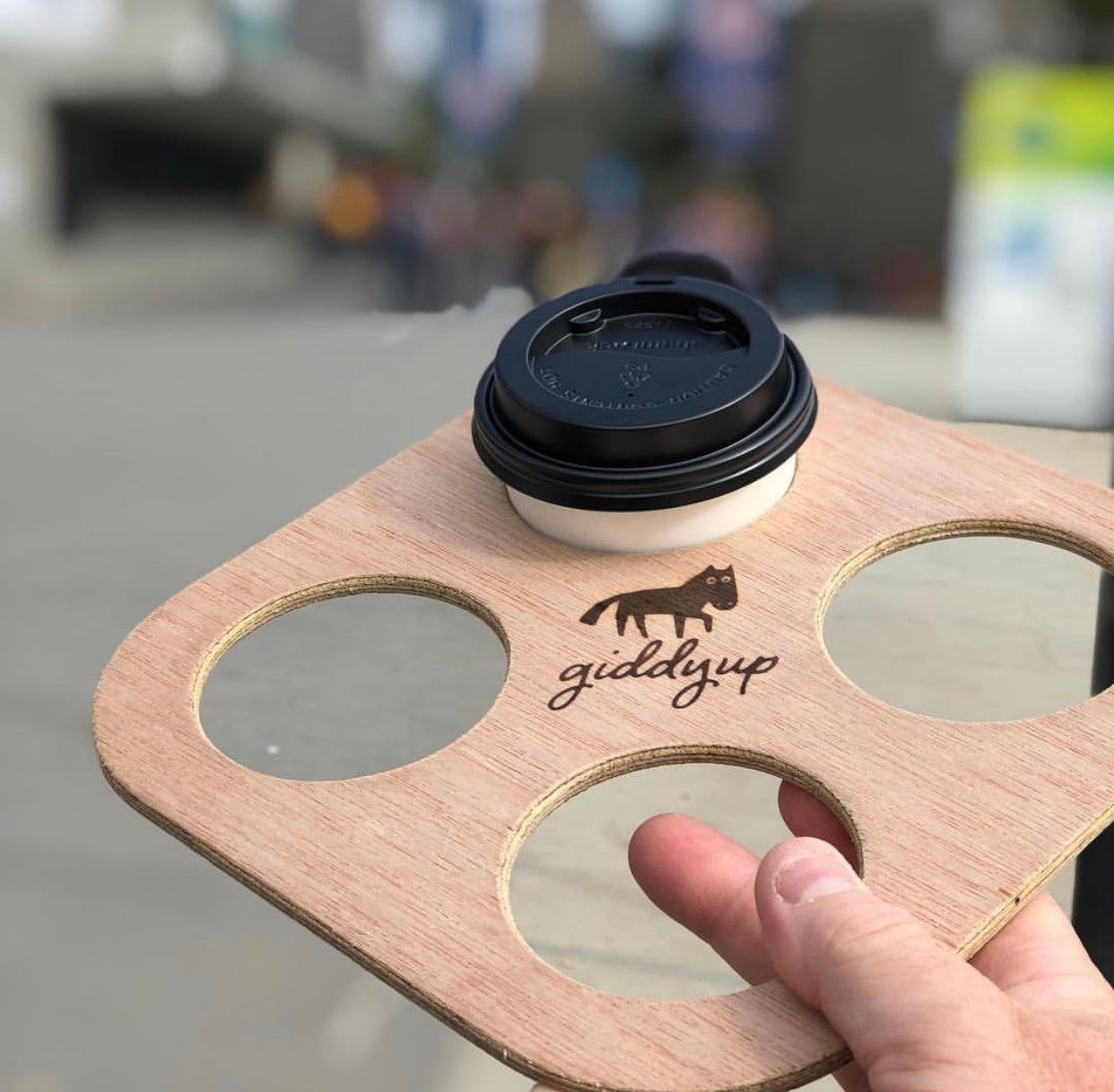 Giddyup 4 Cup Carry Tray