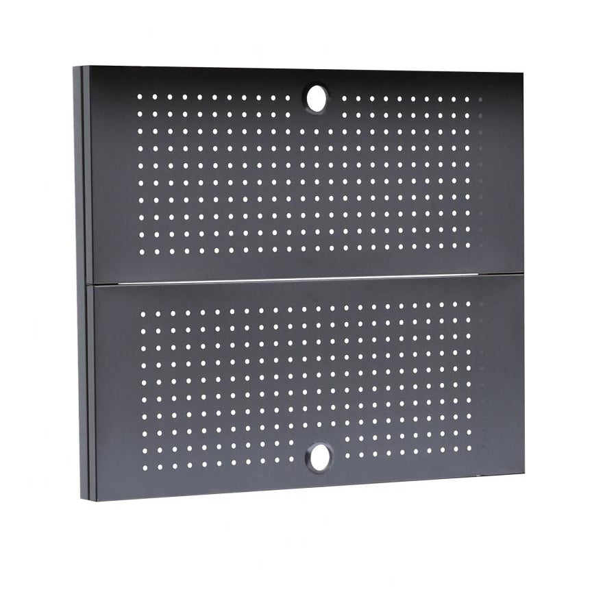 Pegboard back wall and posts