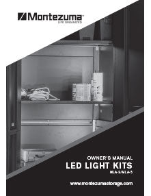 Montezuma LED Light Kits Manual