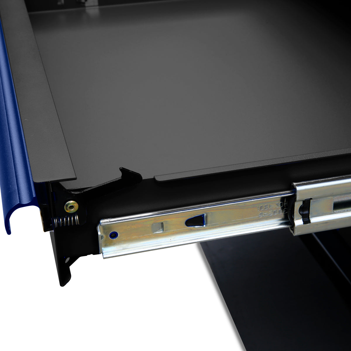 Montezuma Garage Storage System: Ball bearing drawer slides
