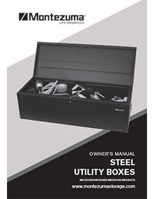 Montezuma Steel Utility Box Manual