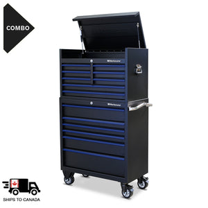 36 x 18 in. 12-Drawer Tool Combo