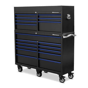 56 x 18 in. 18-Drawer Tool Combo