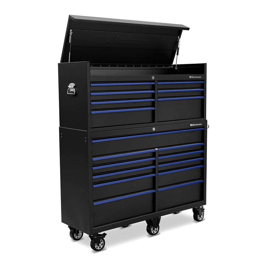 56 x 18 in. 11-Drawer Tool Cabinet
