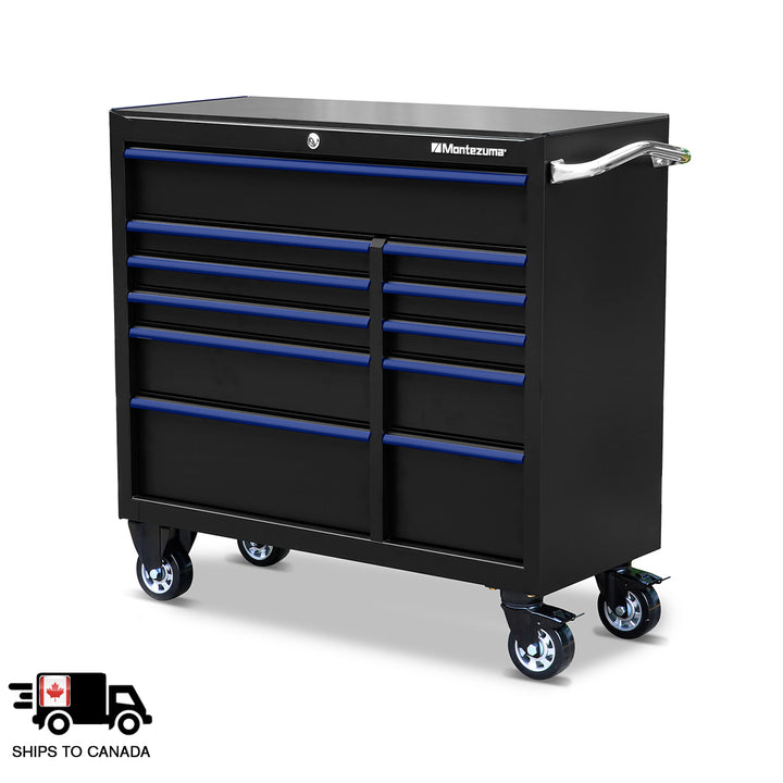 41 x 18 in. 11-Drawer Tool Cabinet