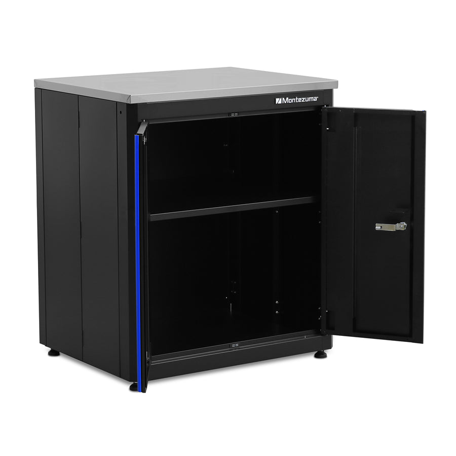 Montezuma storage two door base cabinet, garage organization solutions
