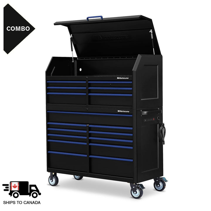 56 x 24 in. 17-Drawer Tool Combo