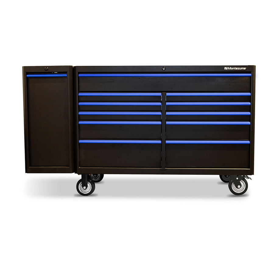 Montezuma tool storage side cabinet with drawer