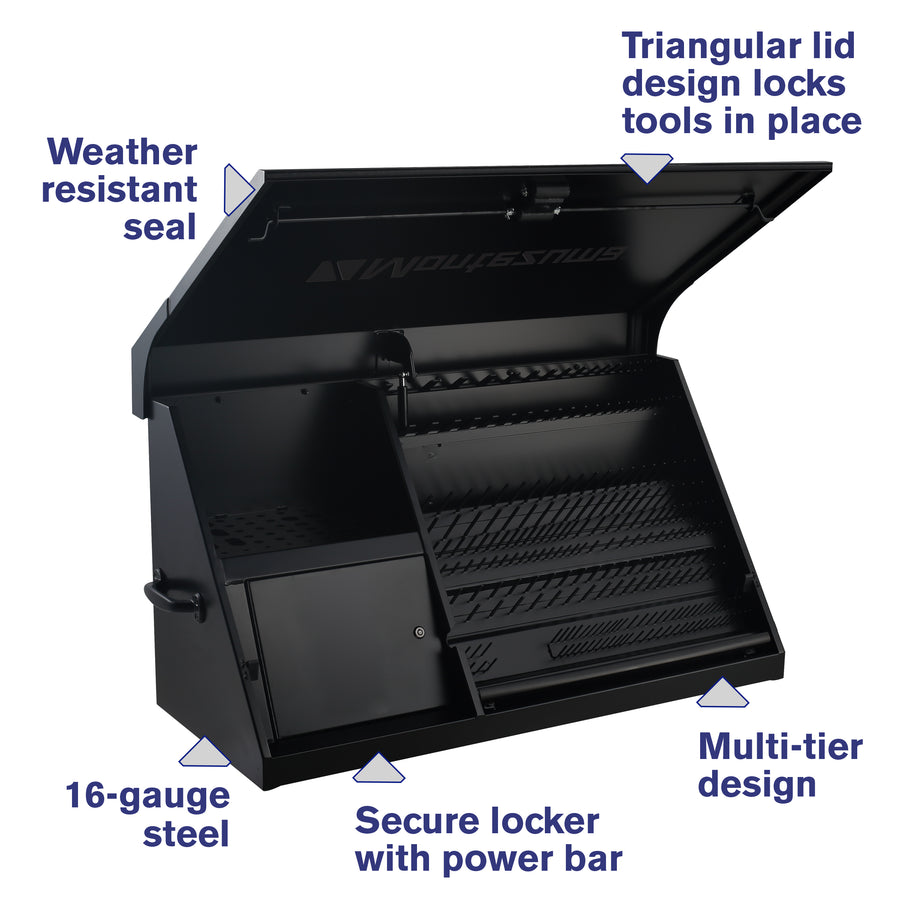 41 x 18 in. Steel Triangle® Toolbox