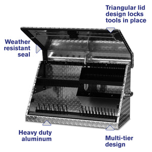 30 x 15 in. Aluminum Triangle® Toolbox