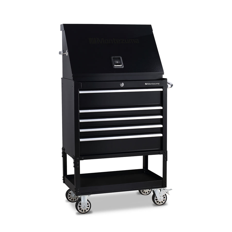Montezuma triangle portable toolbox ME300B with utility cart