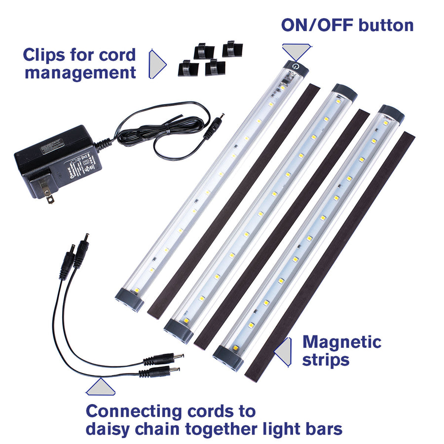 3-Bar LED Light Kit