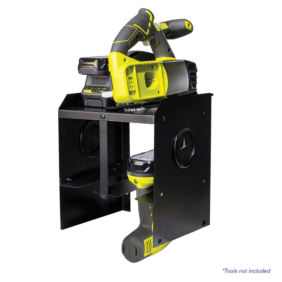 2-Bay Power Tool Organizer