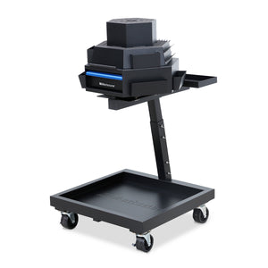 3-Tier Steel Mobile Revolving Tool Cart