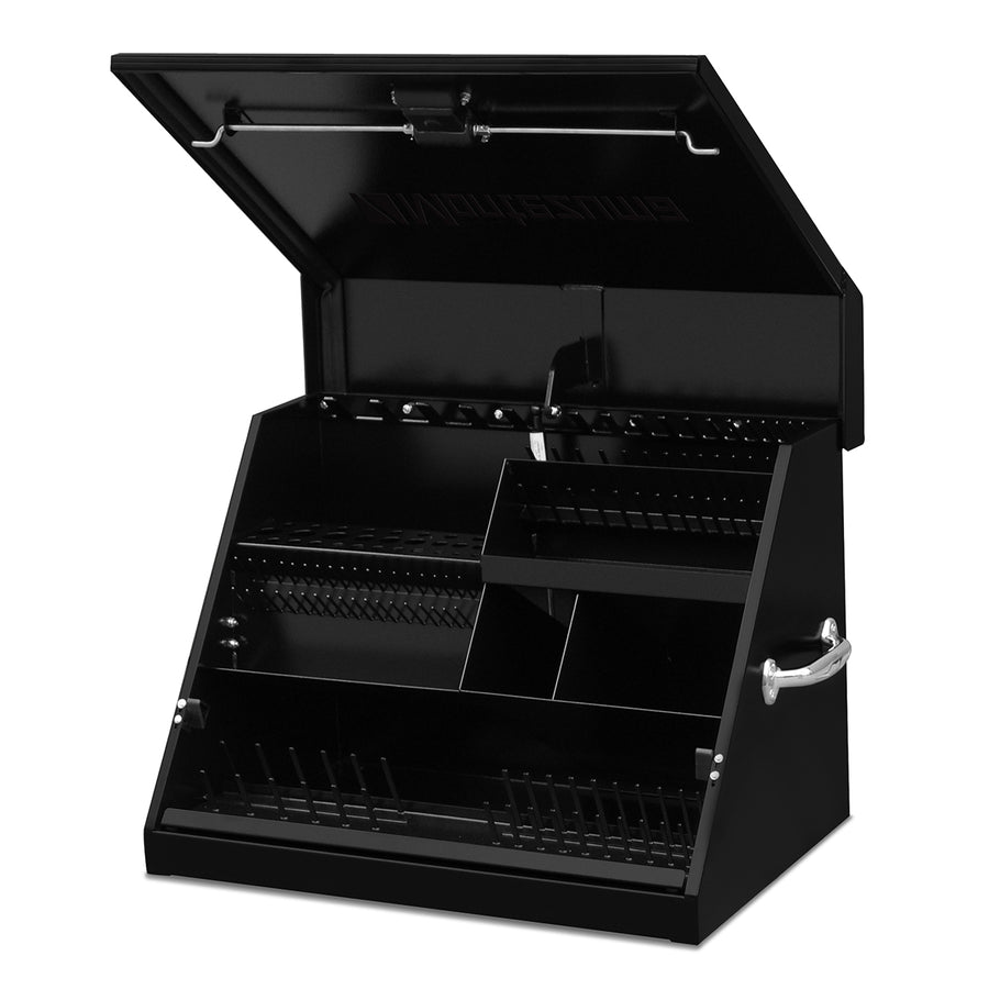 Montezuma portable steel triangle toolbox SE250B, truck tool box
