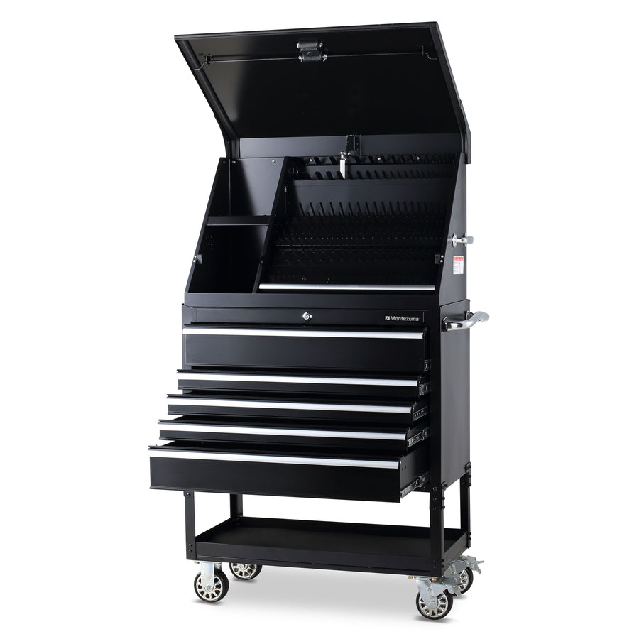 Montezuma triangle portable toolbox and utility cart