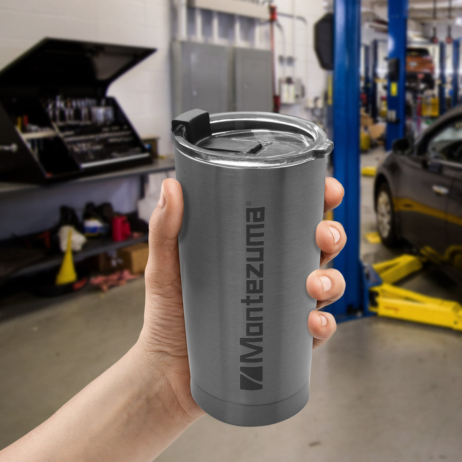 Montezuma thermal travel tumbler