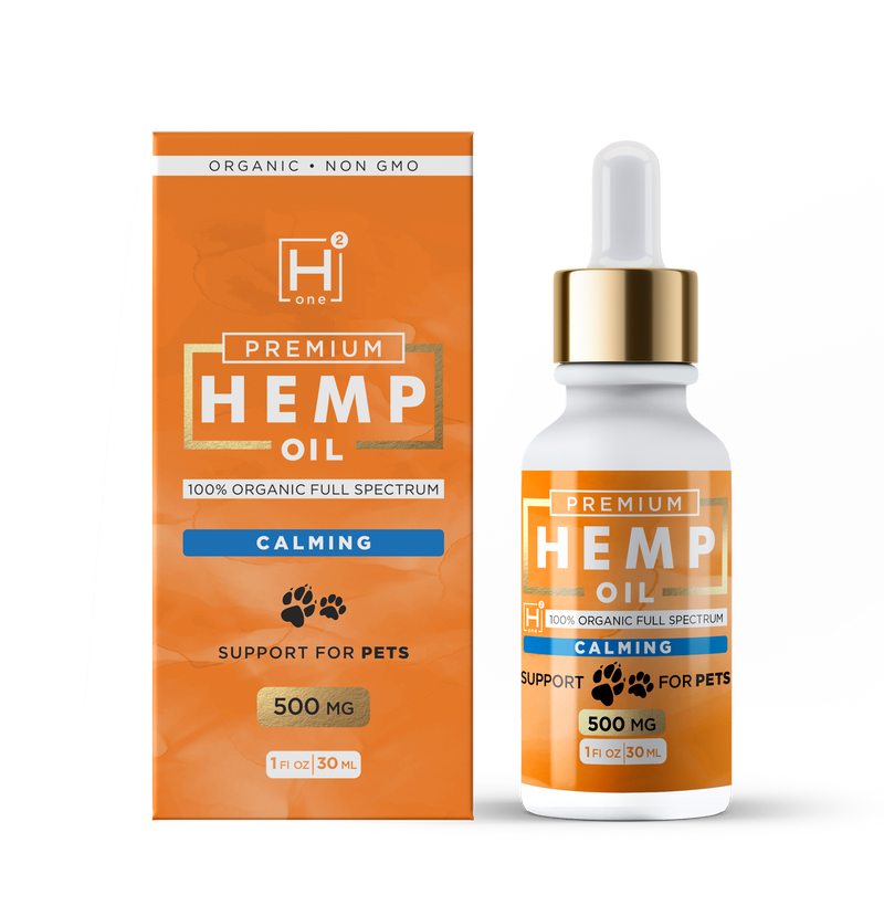 Calming Pet Oil Monthly Subscription - Hemp Health One