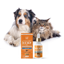 Calming Pet Oil (500 MG) - Monthly Subscription - Hemp Health One