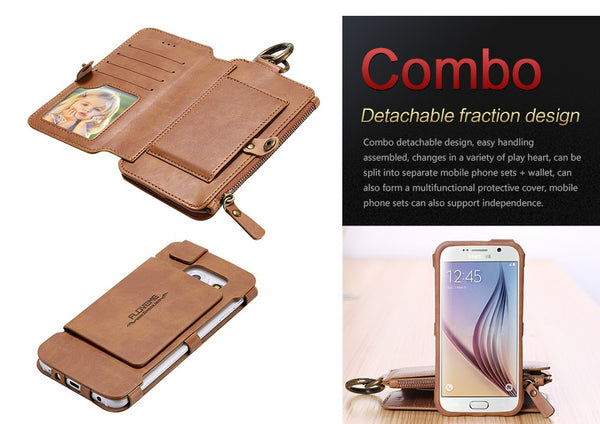 Multi-Function Wallet Phone Case™ - Luxury Goods Mall